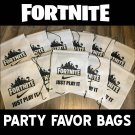 Fortnite Party Favor Bags, Fortnite birthday party, Fortnite bags, Fortnite Party Supplies