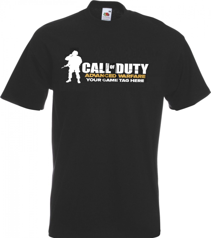 Call of Duty Advanced Warfare Inspired T-shirt, Men, Size M