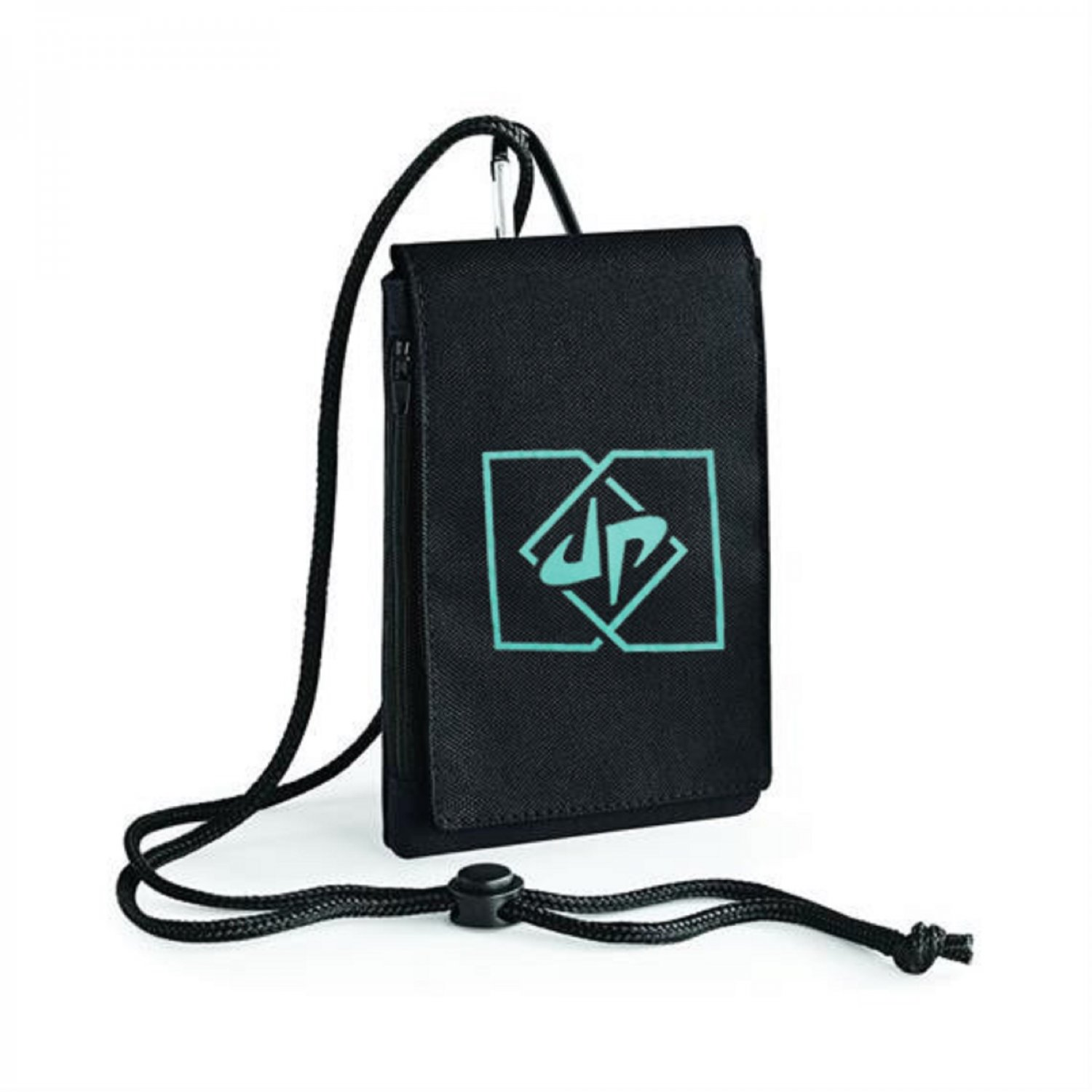 Dude Perfect Box DP Logo Inspired Bagbase Phone Pouch