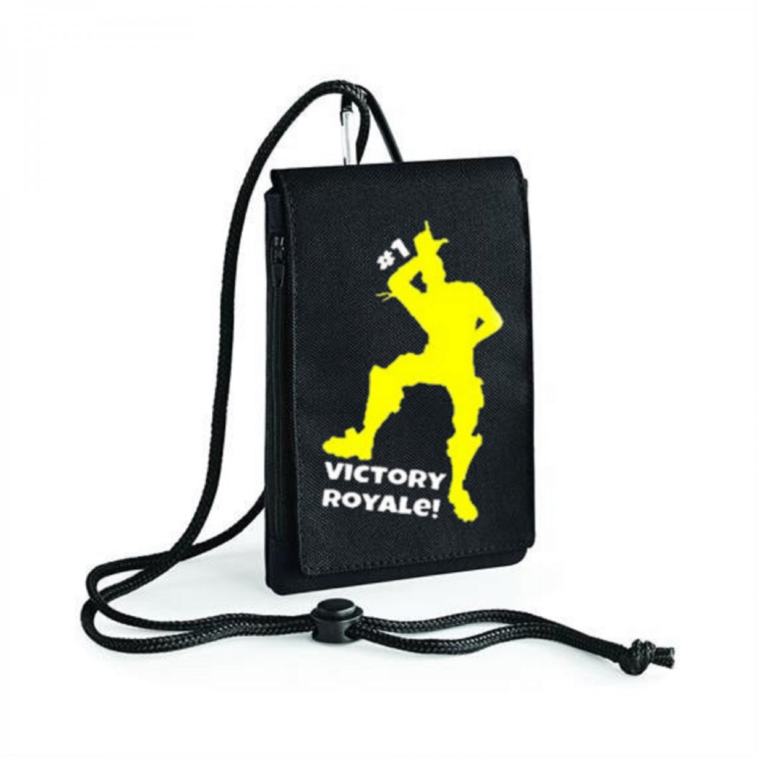 Fortnite First Victory Royal Inspired Bagbase Phone Pouch