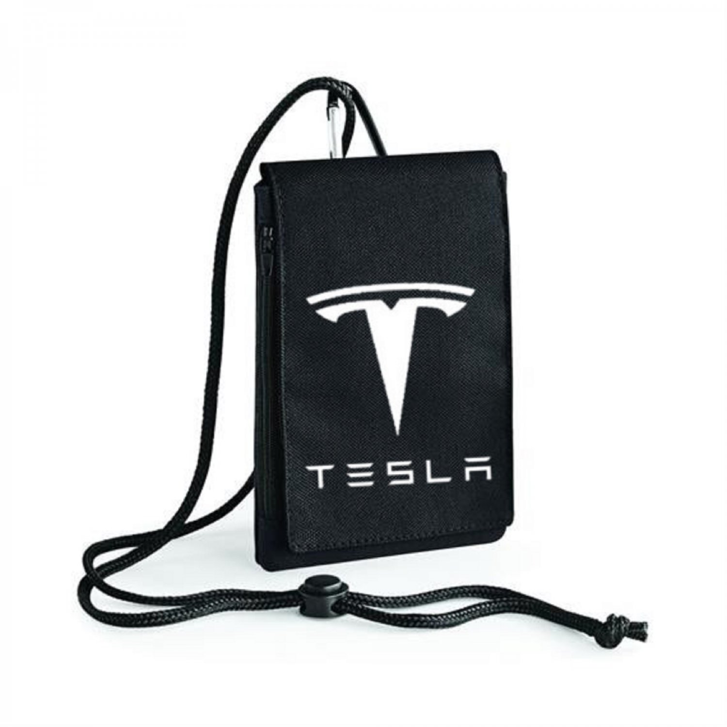 Tesla Motors Car Auto Electric Automobile Inspired Bagbase Phone Pouch