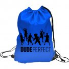 Dude Perfect youtuber 4 Inspired Drawstring Backpack