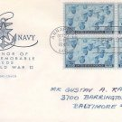 #935 Honoring the Navy House of Farnam First Day Cover FDC