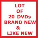 LOT OF 20 ROMANTIC COMEDIES (CHICK FLICKS) DVD MOVIES