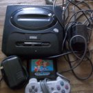 ORIGINAL SEGA GENESIS SYSTEM WITH CONTROLLER, WIRES & GAME!