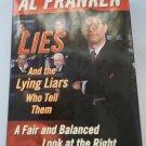 LIES, BY AL FRANKEN, HARD COVER 2003