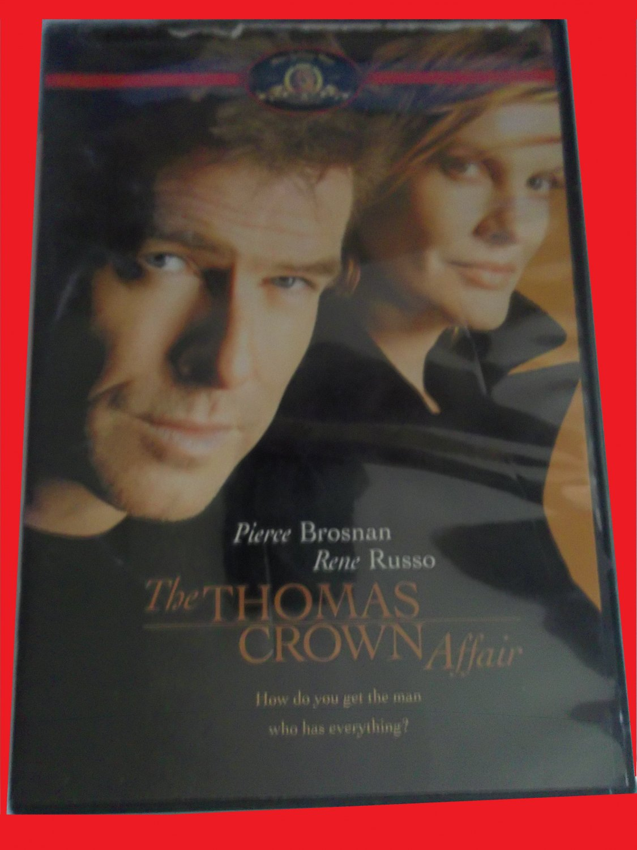 THE THOMAS CROWN AFFAIR (FREE DVD, FAST SHIPPING!) PIERCE BROSNAN (ROMANTIC THRILLER, ADVENTURE)