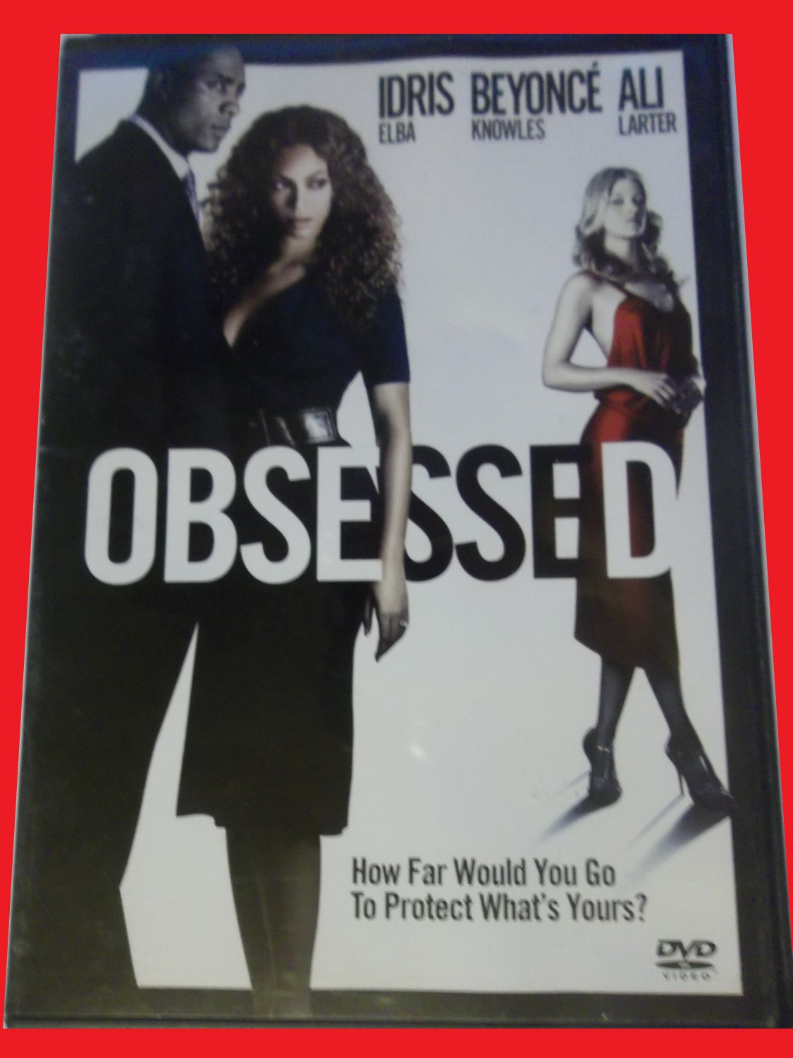 OBSESSED (FREE DVD, FAST SHIPPING!) BEYONCE KNOWLES (ROMANTIC DRAMA/THRILLER)