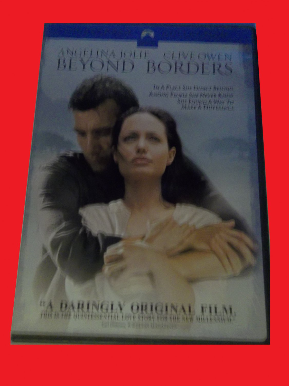 BEYOND BORDERS (FREE DVD, FAST SHIPPING!) ANGELINA JOLIE, CLIVE OWENS (ROMANTIC ADVENTURE)