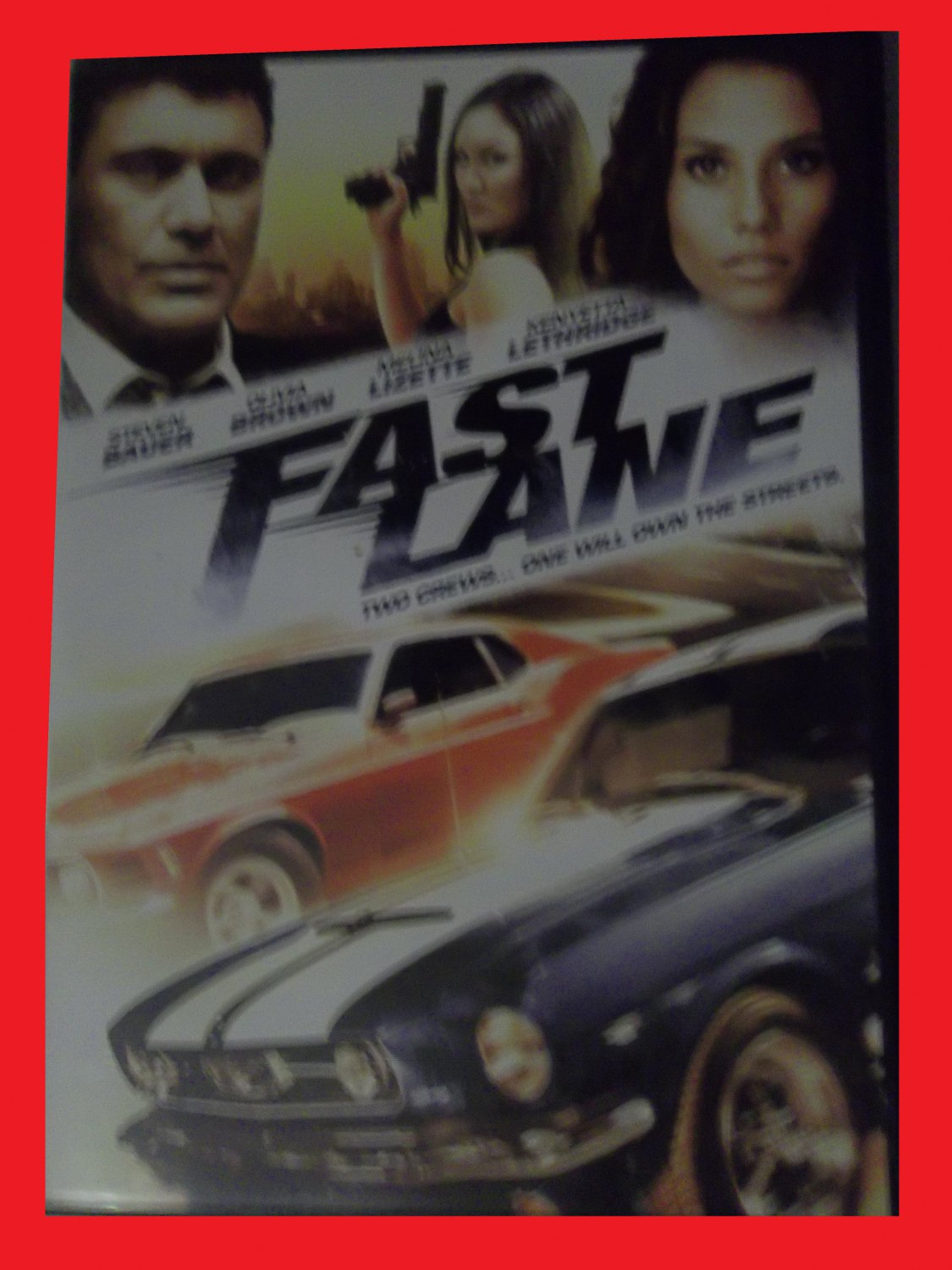 FAST LANE (FREE DVD & FAST SHIPPING) STEVEN BAUER (ACTION/SPORTS/ADVENTURE)