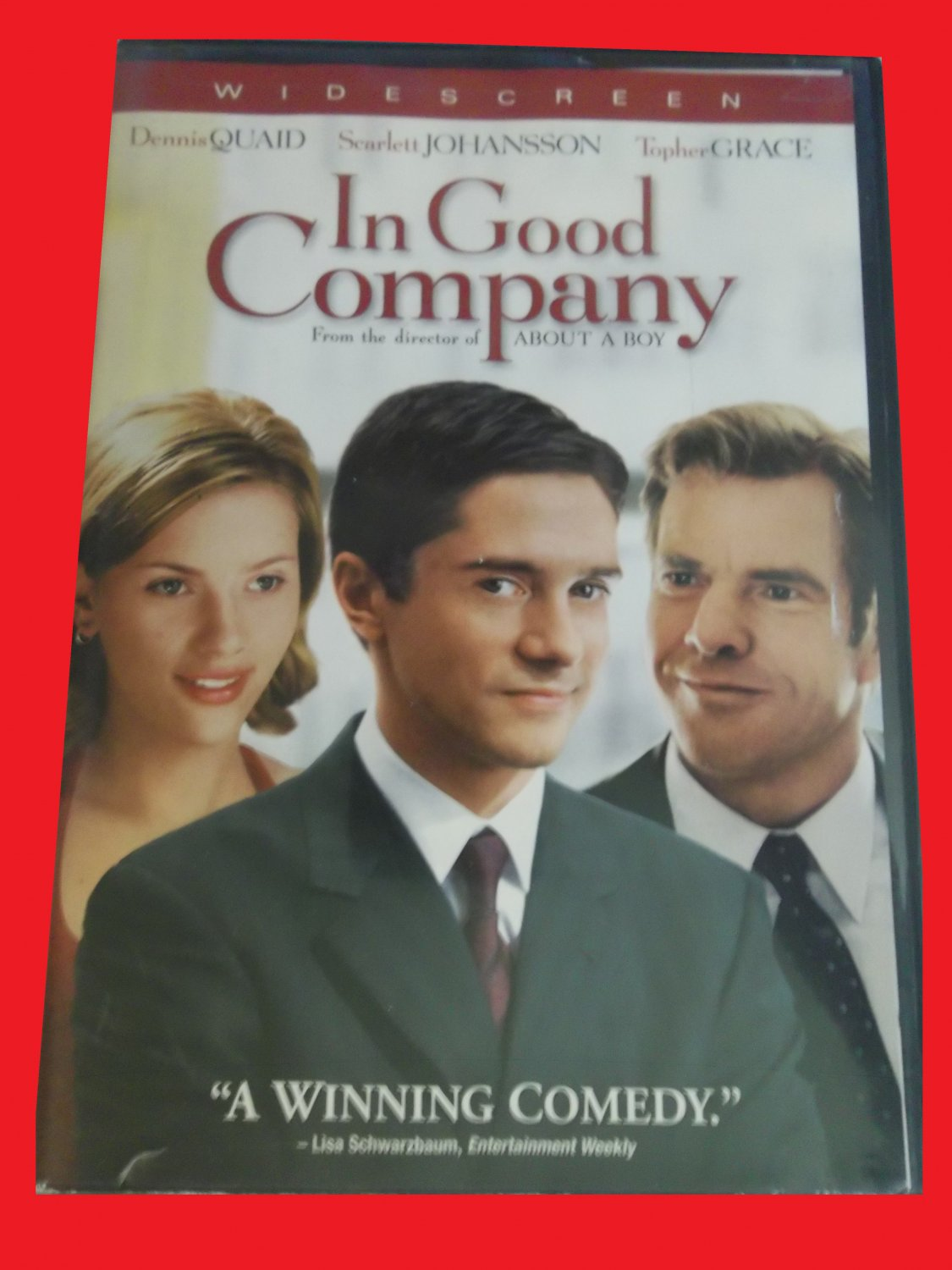 IN GOOD COMPANY (FREE DVD & FAST SHIPPING) TOPHER GRACE (ROMANTIC COMEDY)