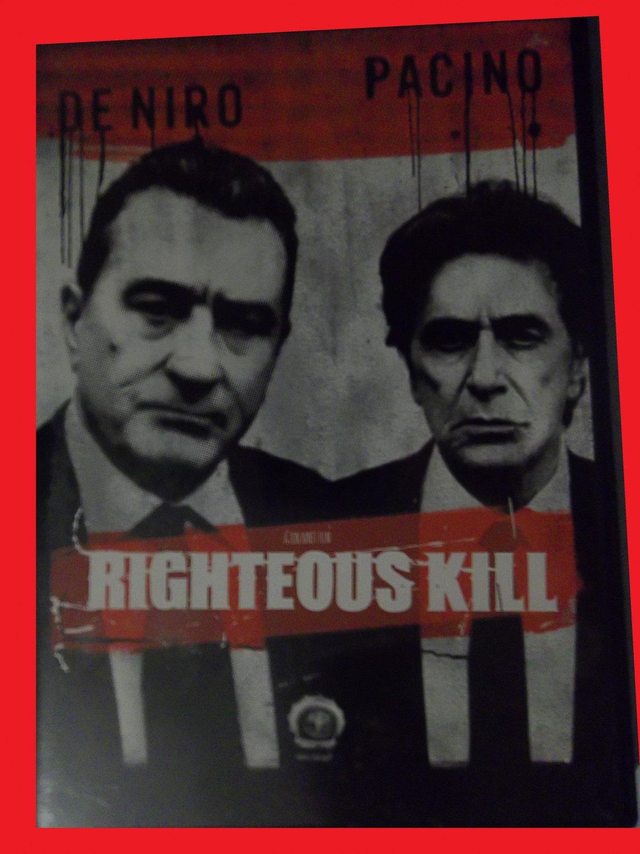 RIGHTEOUS KILL (FREE DVD & FAST SHIPPING) ROBERT DE NIRO (PSYCHOLOGICAL THRILLER/DRAMA)