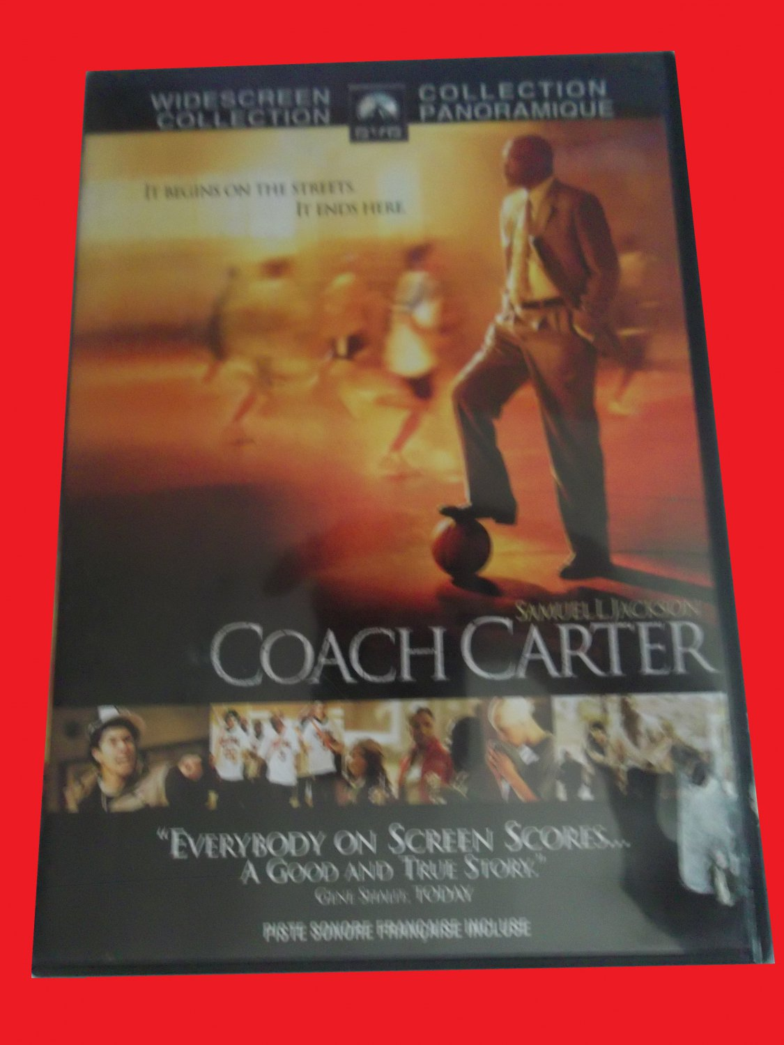 COACH CARTER (FREE DVD & FAST SHIPPING) SAMUEL L JACKSON (TRUE STORY/SPORTS/ACTION/DRAMA)