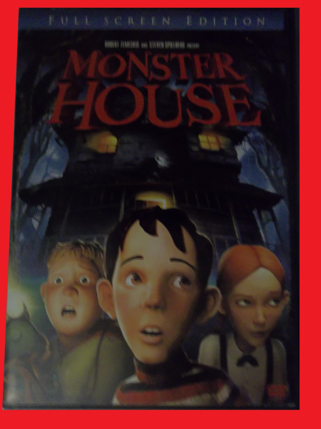 MONSTER HOUSE (FREE DVD & FAST SHIPPING) STEVE BUSCEMI, (CARTOON/ANIMATION)