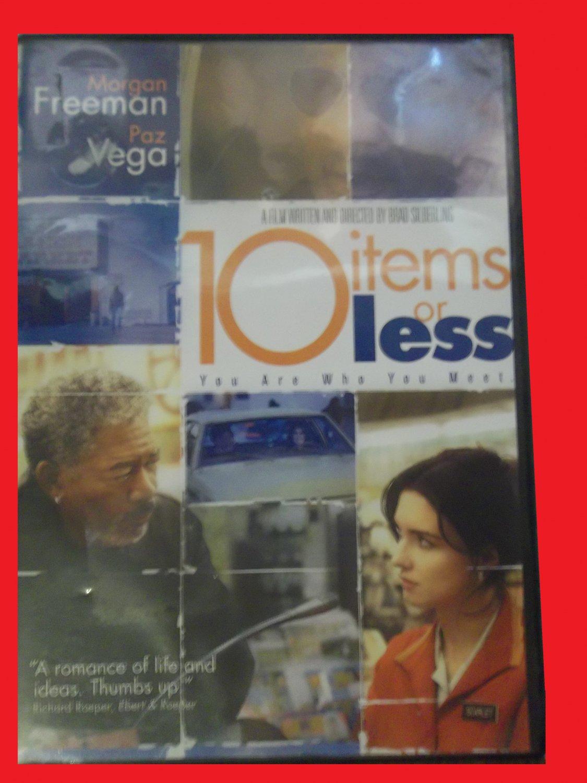 10 ITEMS OR LESS (FREE DVD & FAST SHIPPING) MORGAN FREEMAN (DRAMA/THRILLER/HUMOR)