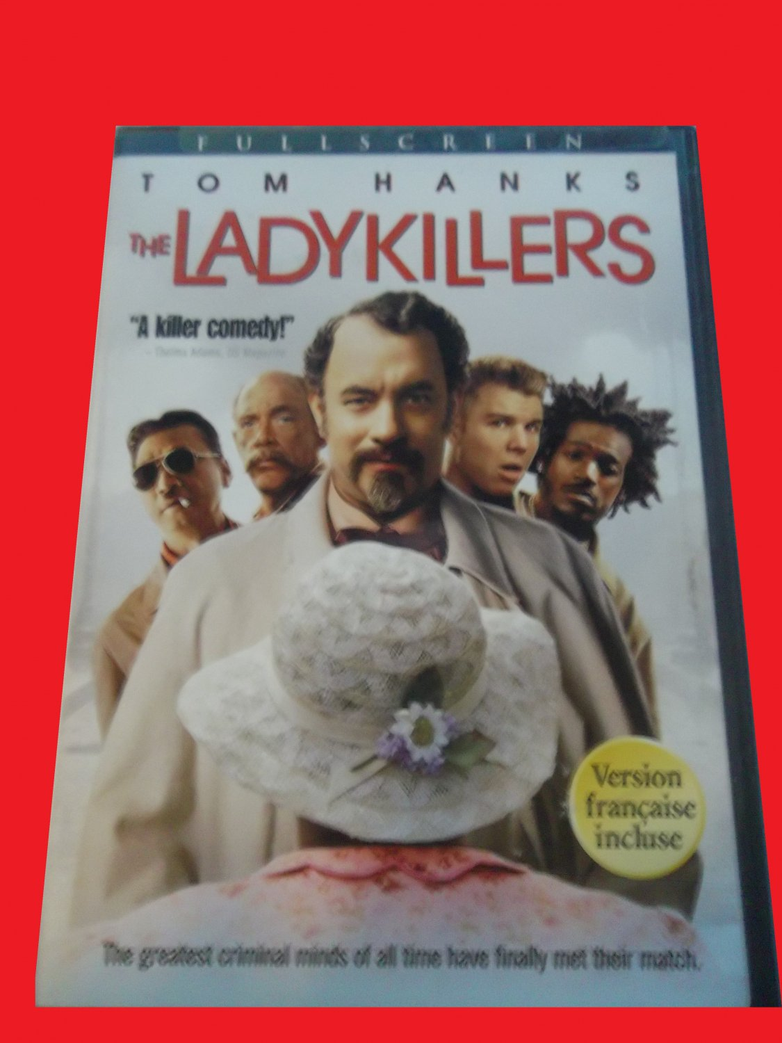 THE LADYKILLERS (FREE DVD & FAST SHIPPING) TOM HANKS (COMEDY/THRILLER/SUSPENSE)