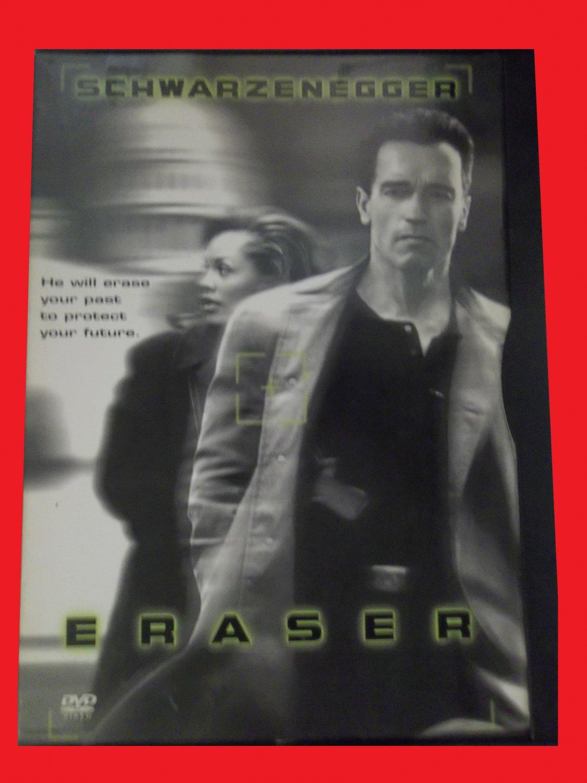 ERASER (FREE DVD & FAST SHIPPING) ARNOLD SCHWARZENEGGER (ACTION/THRILLER)