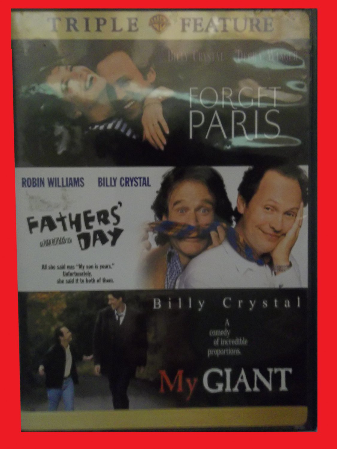 FORGET PARIS, FATHERS' DAY, MY GIANT (FREE DVD & FAST SHIPPING) BILLY CRYSTAL