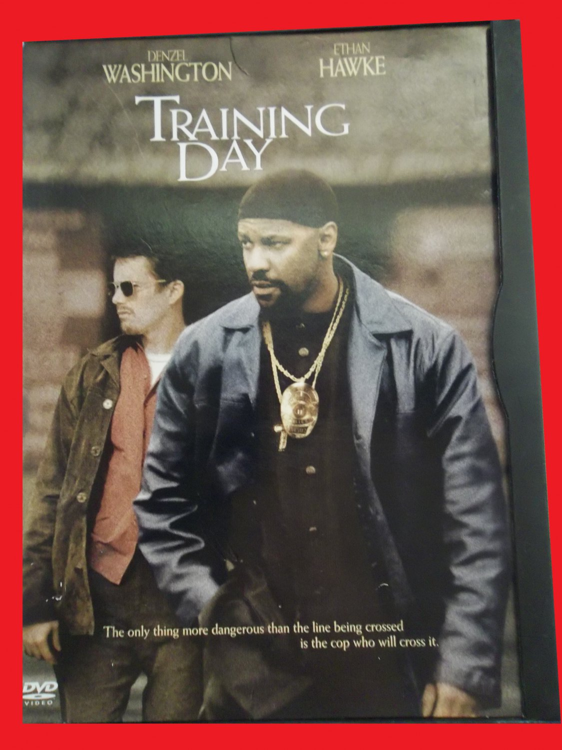 TRAINING DAY (FREE DVD & FAST SHIPPING) DENZEL WASHINGTON (ACTION/DRAMA/THRILLER)