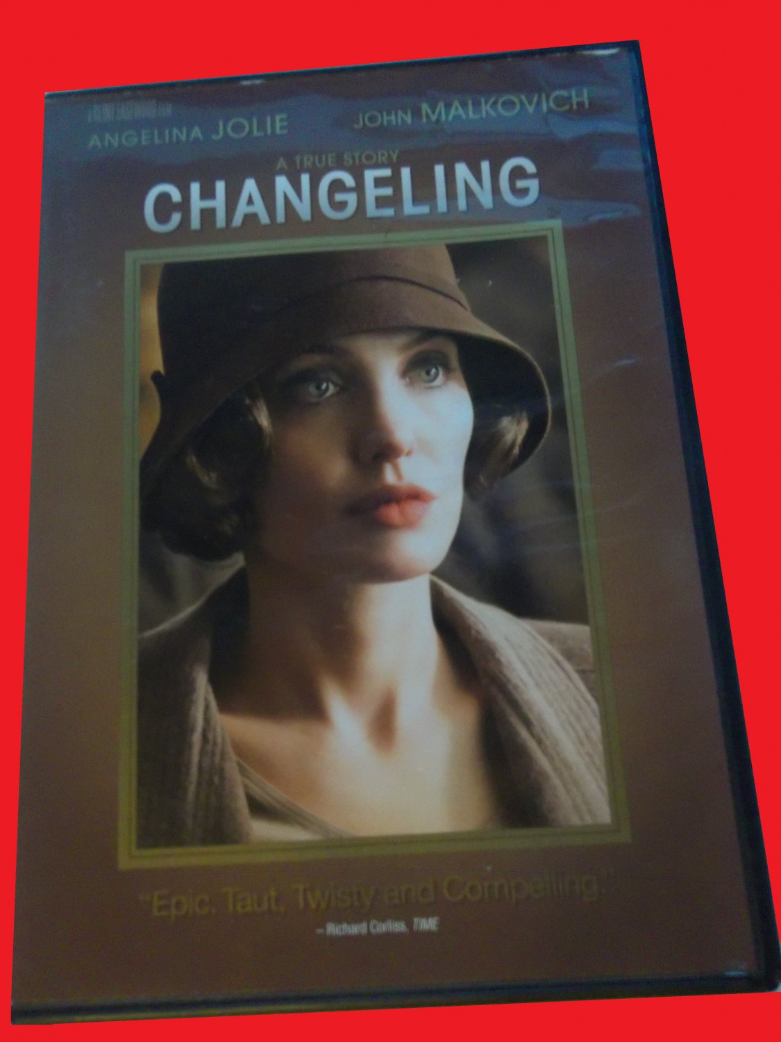 CHANGELING (FREE DVD & FAST SHIPPING) ANGELINA JOLIE (TRUE STORY/DRAMA/THRILLER)