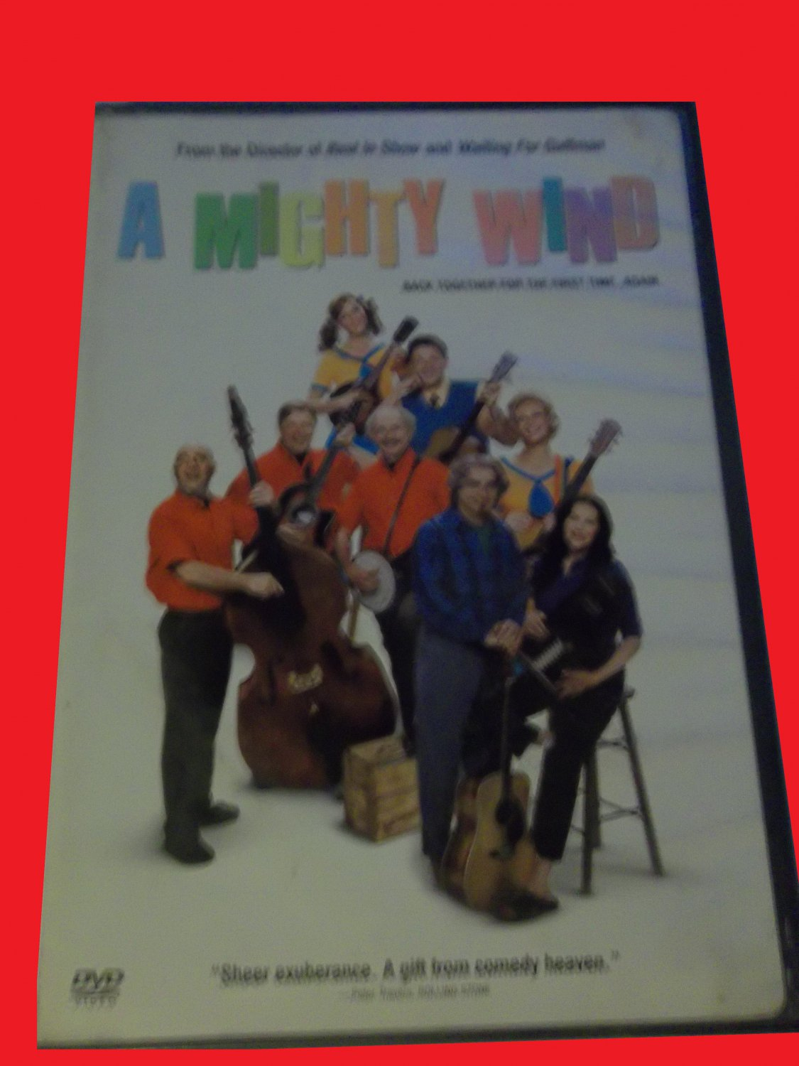 A MIGHTY WIND (FREE DVD & FAST SHIPPING) MICHAEL MCKEAN (COMEDY/CONCERT)