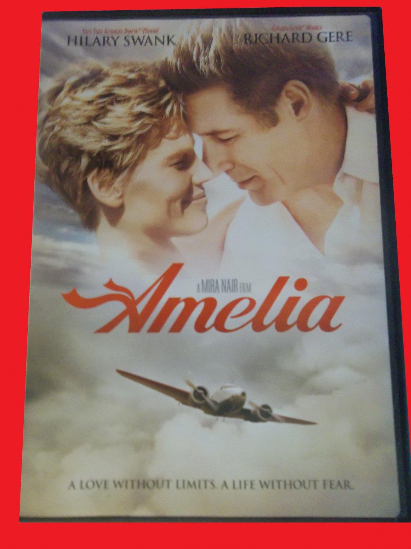AMELIA (FREE DVD & FAST SHIPPING) HILARY SWANK (THRILLER/ROMANCE/ADVENTURE)