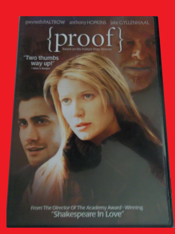 PROOF (FREE DVD & FAST SHIPPING) GWYNETH PALTROW (THRILLER/DRAMA)