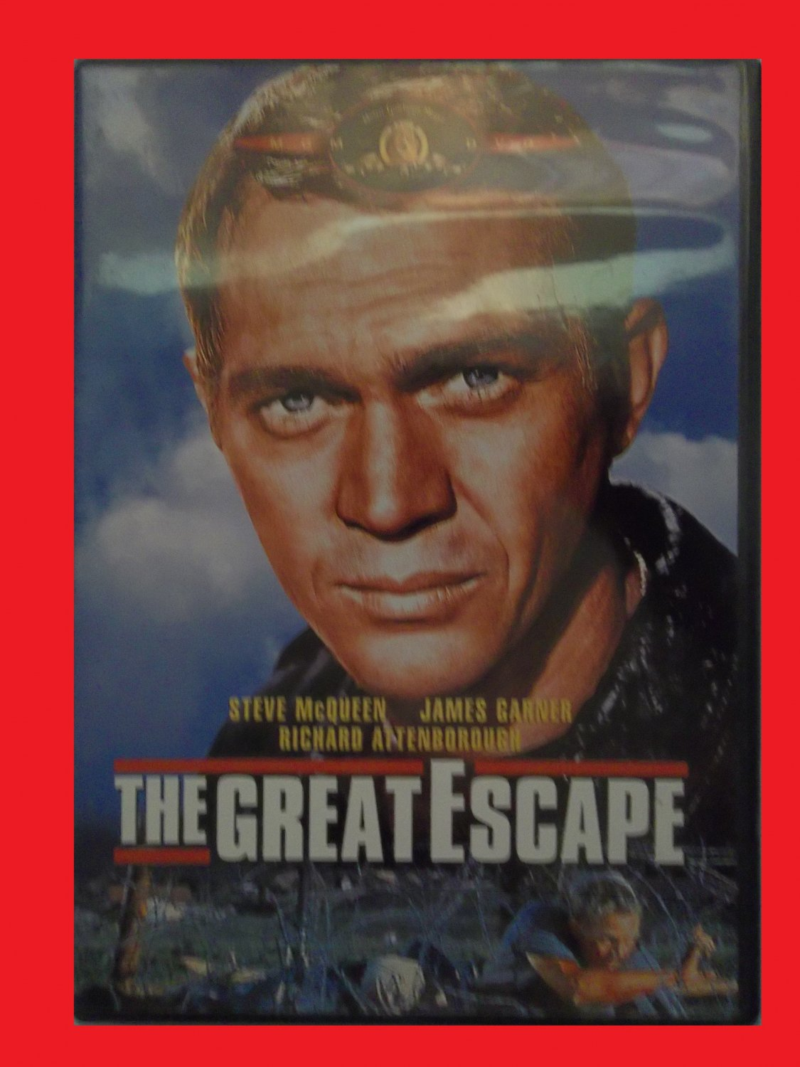 THE GREAT ESCAPE (FREE DVD & FAST SHIPPING) STEVE MCQUEEN (TRUE STORY/THRILLER/SUSPENSE)