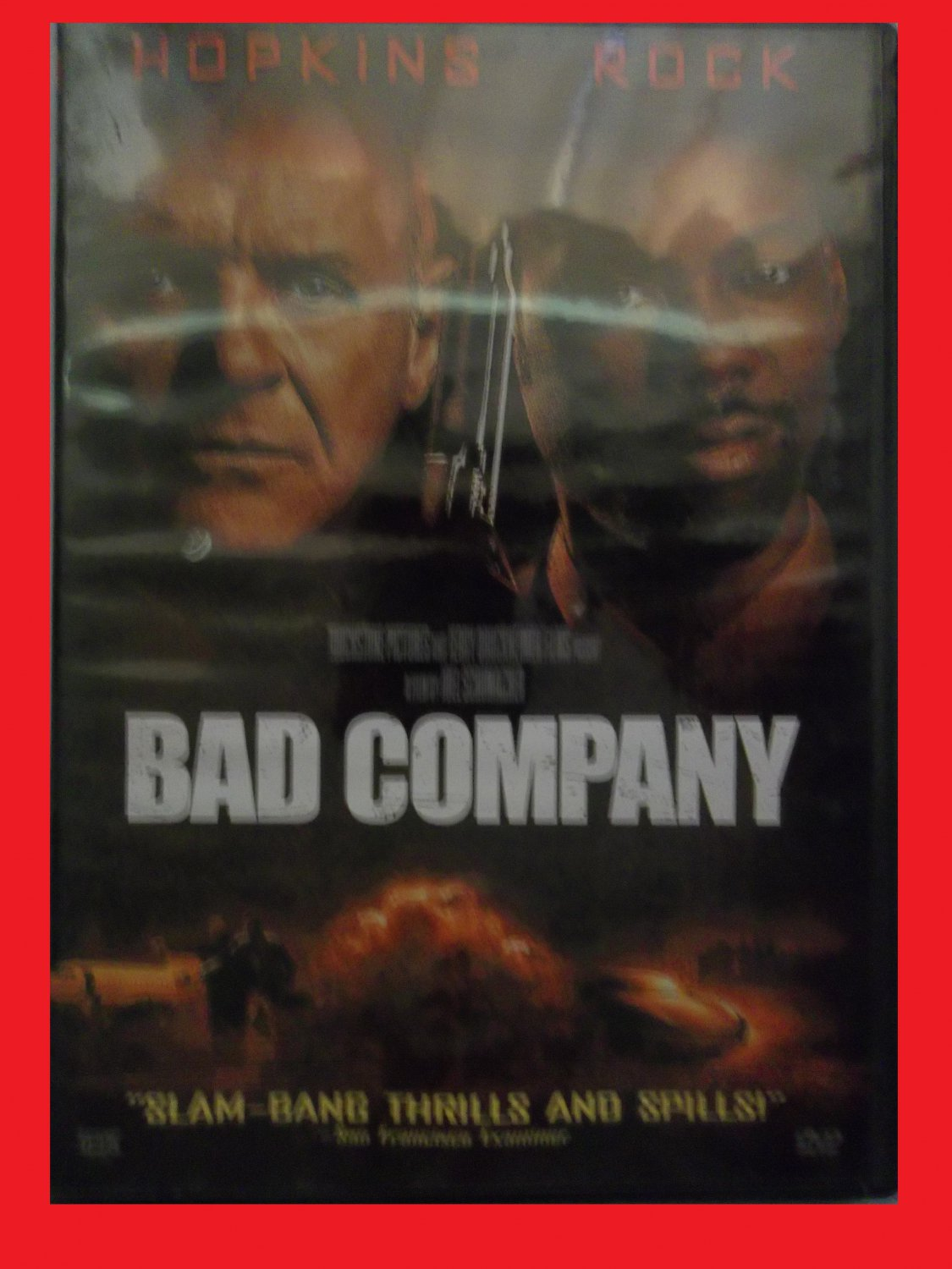 BAD COMPANY (FREE DVD & FAST SHIPPING) ANTHONY HOPKINS (SPY ACTION/THRILLER)