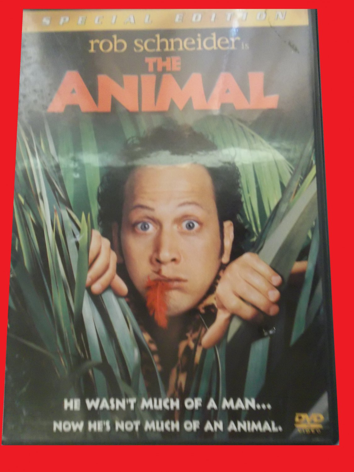 THE ANIMAL (FREE DVD & FAST SHIPPING) ROB SCHNEIDER (COMEDY)