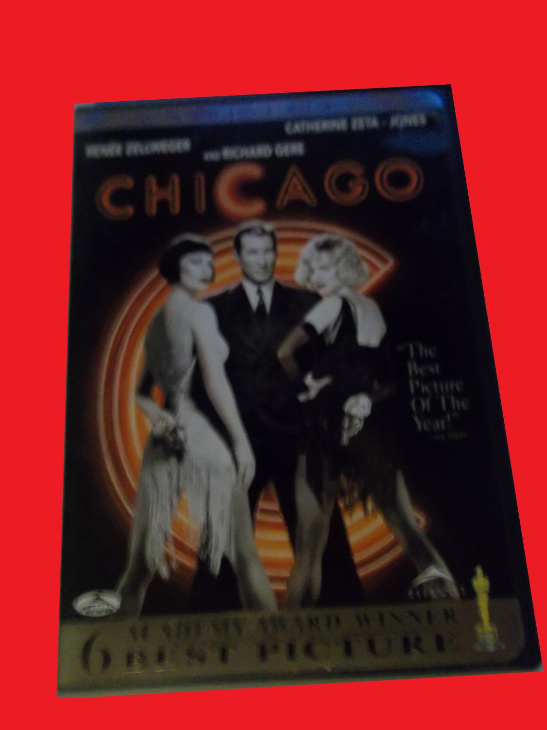 CHICAGO (FREE DVD & FAST SHIPPING) RICHARD GERE (MUSICAL)