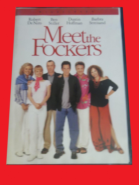 MEET THE FOCKERS (FREE DVD & FAST SHIPPING) ROBERT DE NIRO (COMEDY/THRILLER)