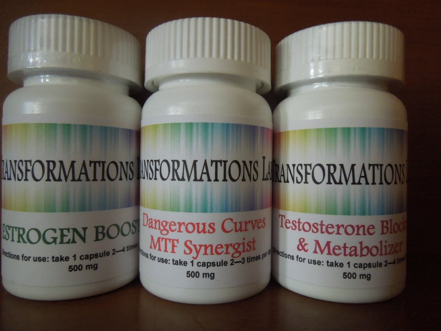 MTF Transgender Support Supplement - E-Booster /T-Blocker 3 part Kit