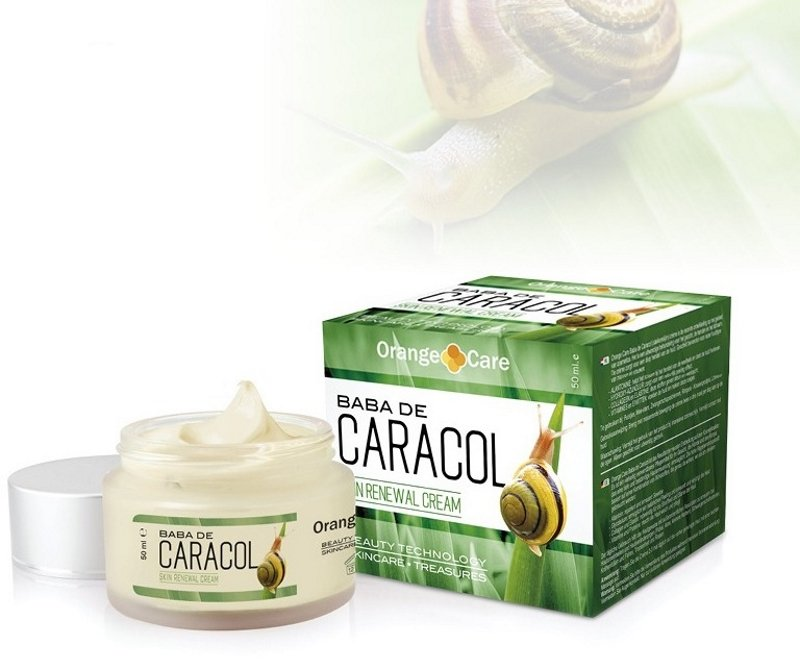 Baba de Caracol Face Cream, 50 ml deep and constant skin regeneration Anti-Wrinkle