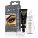 Henna for eyebrows Bio Formula Creamy henna with Argan oil & castor oil Grey