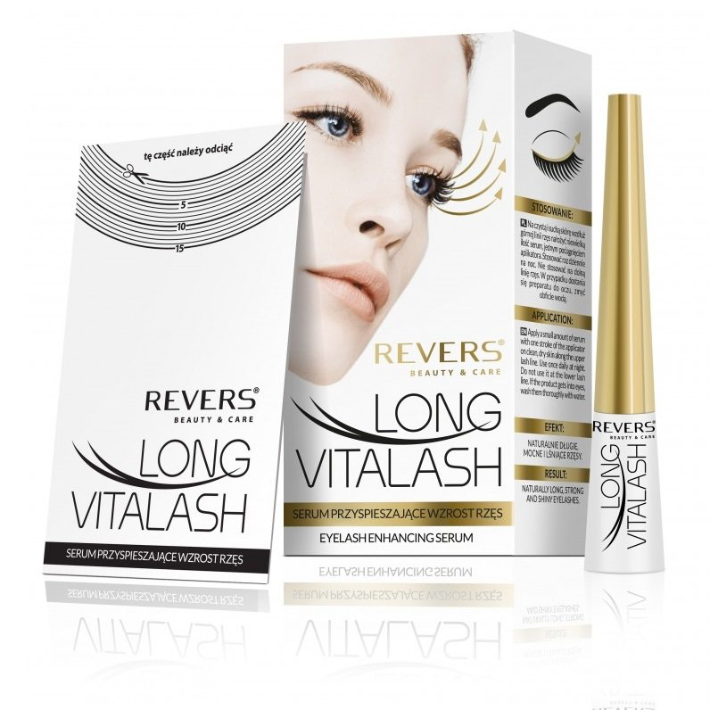 Eyelash Serum Re-hydrating Long Vitalash with Pro-vitamin B5 and Allantoin