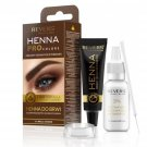 Eyebrow dye Bio Formula Creamy henna with Argan oil & castor oil 2.0 Brown