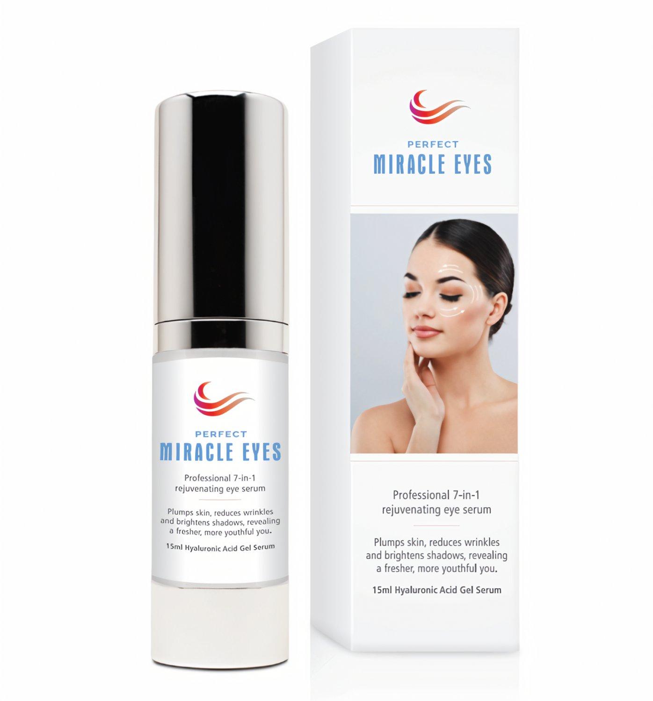 Perfect Miracle Eyes anti wrinkle anti-aging Hyaluronic Acid Gel Serum UK