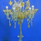 Murano Table lamp Imperiale gold crystal