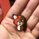 FOX & THE HOUND ENAMEL PIN