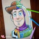 """WOODY & BUZZ LIGHTYEAR"" PRINT"