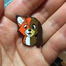 FLAWED ENAMEL PIN (FOX & THE HOUND)
