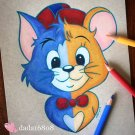 """BABY TOM & JERRY"" ORIGINAL ARTWORK"