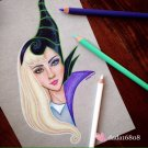 """AURORA VS MALEFICENT"" ORIGINAL ARTWORK"
