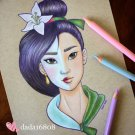 """MULAN"" ORIGINAL ARTWORK"