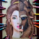 """BEAUTY & THE BEAST"" ORIGINAL ARTWORK"