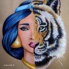 """JASMINE & RAJAH"" ORIGINAL ARTWORK"