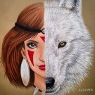"""PRINCESS MONONOKE"" ORIGINAL ARTWORK"
