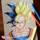 """GOKU"" ORIGINAL ARTWORK"