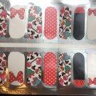 Minnie & Mickey Lollipops Nail Art